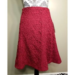 Lace Knit Skirt by Nanette Lepore